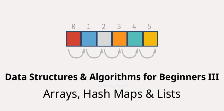 Data Structures in JavaScript: Arrays, HashMaps, and Lists